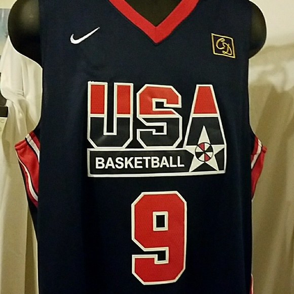 d88b696c79b Michael Jordan New 1992 USA Dream Team jersey